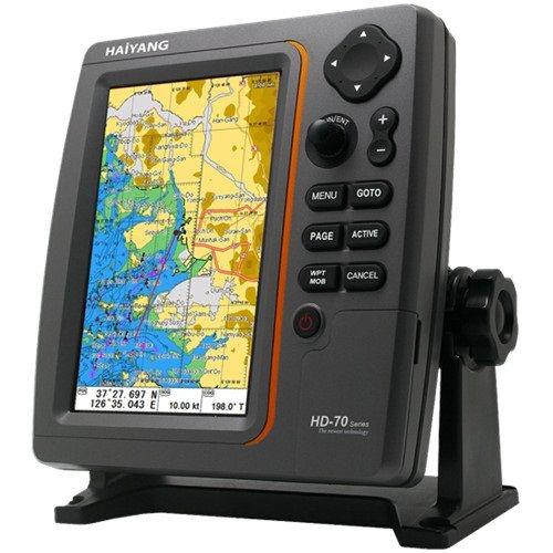 HAIYANG HD-70C / Định vị - hải đồ màu 7 inch