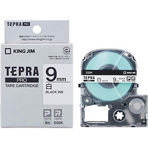 TEPRA SS9K - CHỮ ĐEN NỀN TRẮNG 9MM
